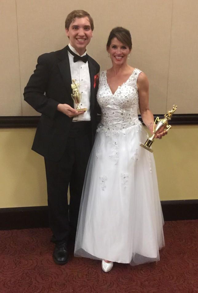 Lisa Aguero and Ethan Parker