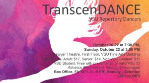 TranscenDANCE Performance Flyer