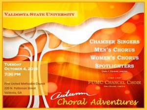 VSU Autumn Choral Adventures