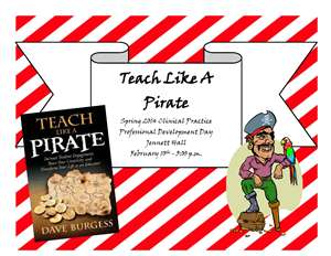 Teach Like A Pirate Flyer