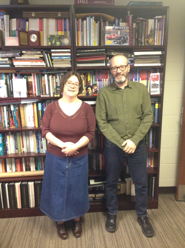 Dr. Molly Stoltz and Dr. William Faux received a $7,500 grant to study the needs of rural health caregivers.