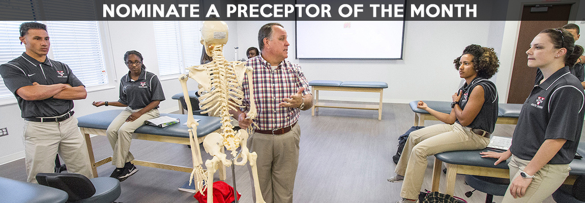 Click here to nominate an outstanding preceptor!