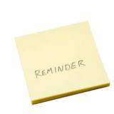 Reminder: Save Your Work Mondays!