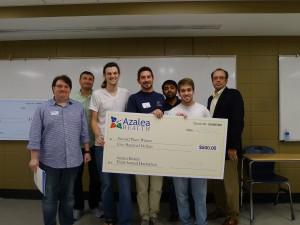 second place hackathon winners