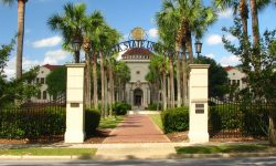 VSU West Hall Entrance