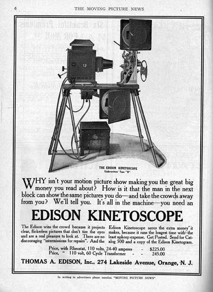 Early Film Projector