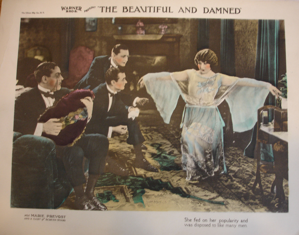 1922 Film based on a Fitzgerald Novel