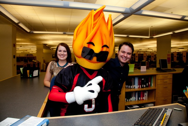 Blaze with the Reference Librarians