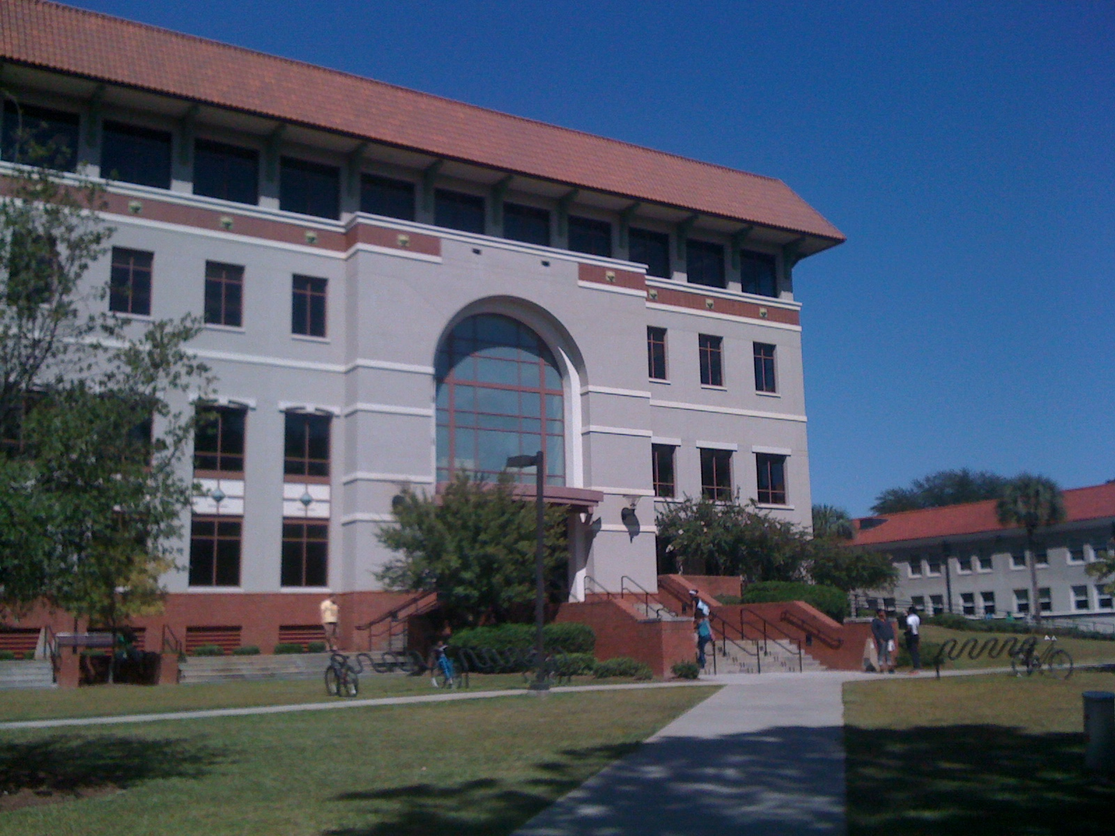 South entrance of Odum Library, 10/07/2010