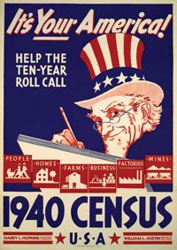 Uncle Sam 1940 Census