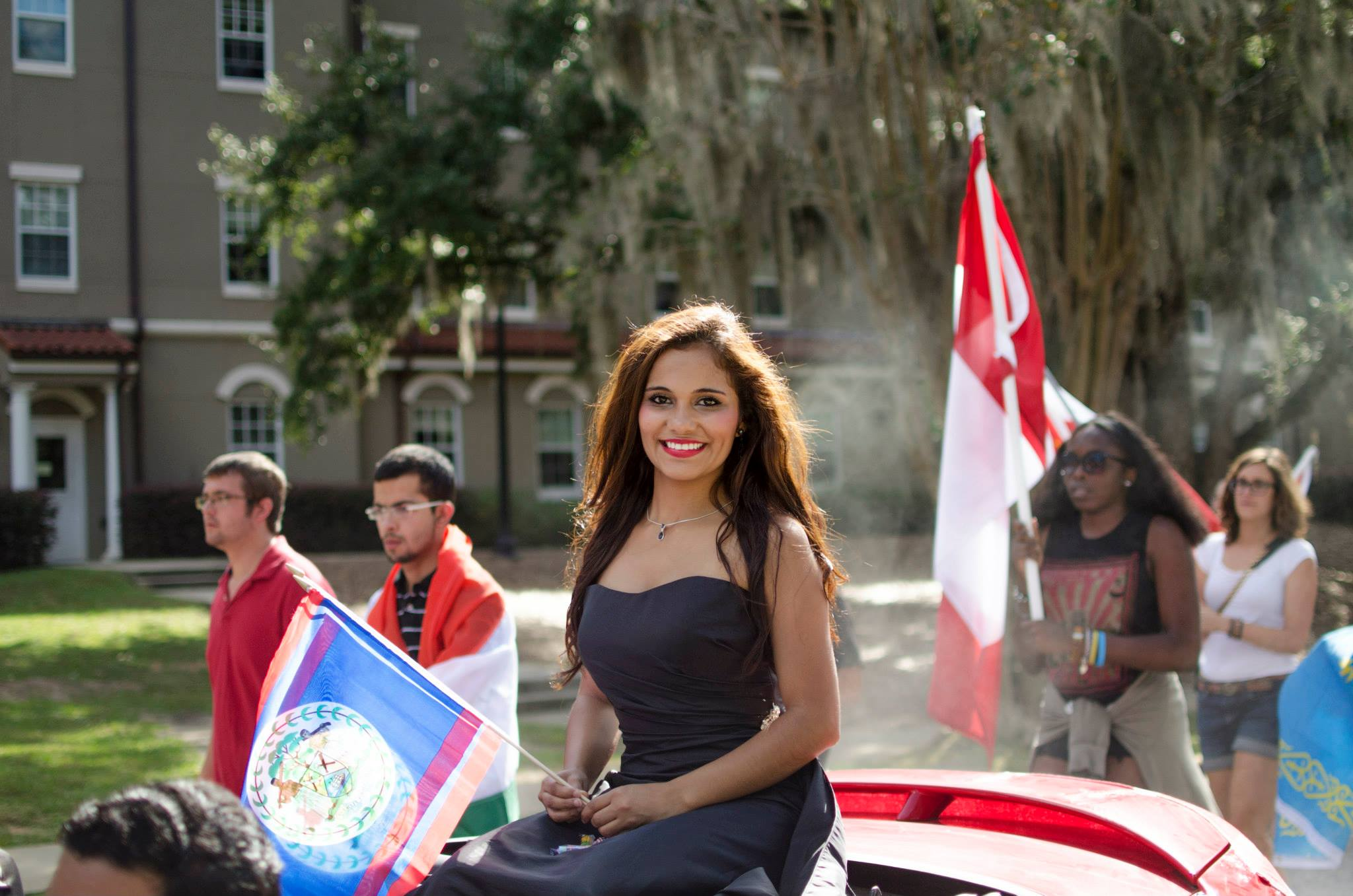 SIS Homecoming Queen candidate Dilcia Turcios from Honduras!
