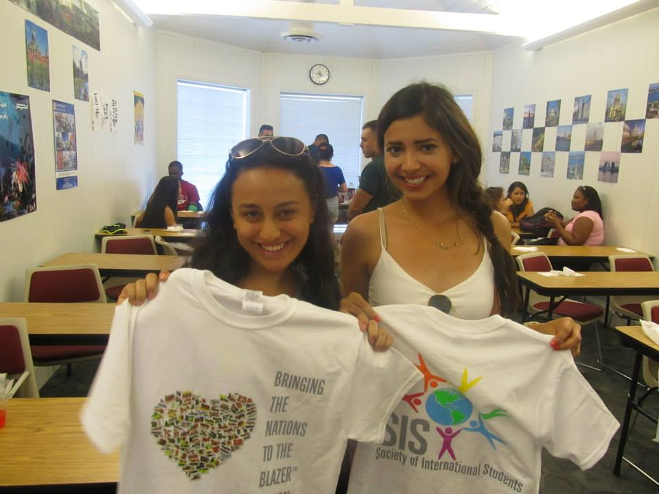 New SIS T-shirts! Basak Isik (Turkey), Estefania Ybarra (Mexico)