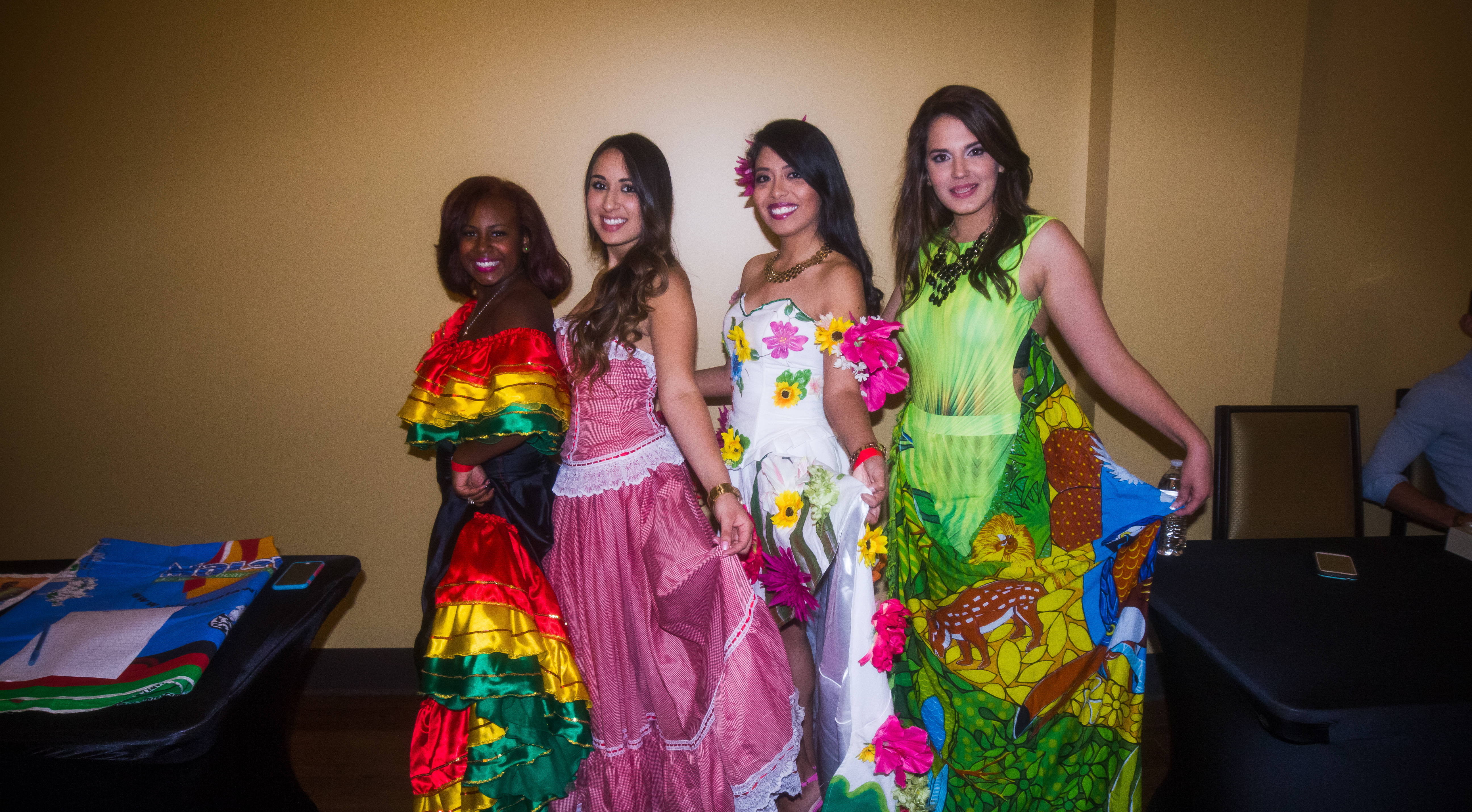 Students from Latin America (Colombia, Ecuador,Belize, Brazil)