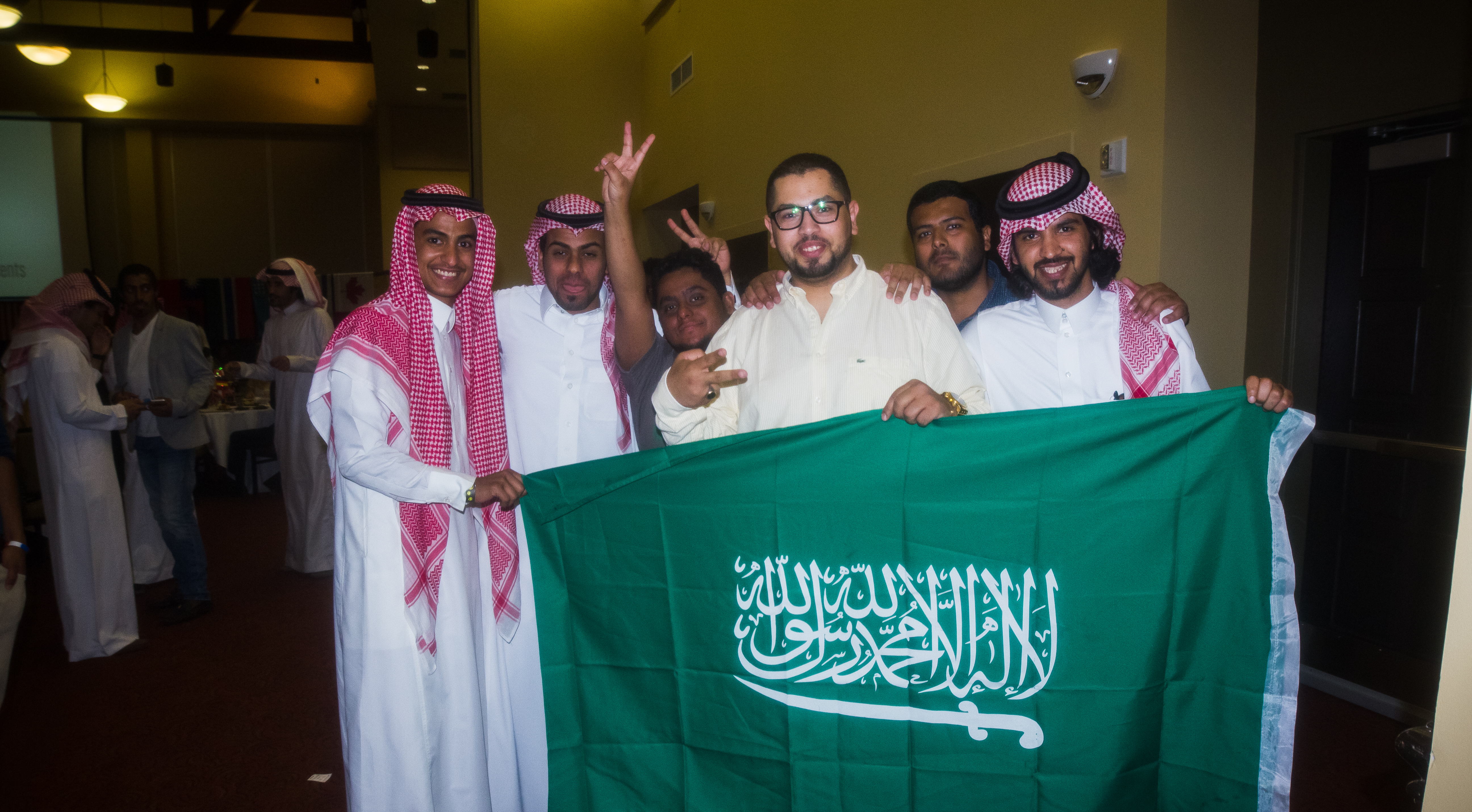 Students from Saudi Arabia