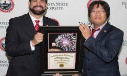 Dr. Richard Carvajal, Presidient; Benjamin Li, Manager of Solutions Center