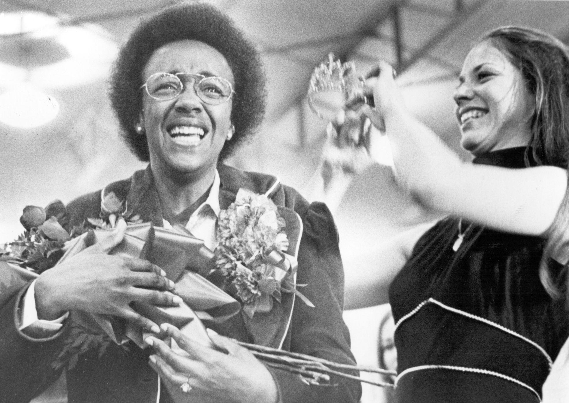 1974, Skip McDonald, First African-American Homecoming Queen