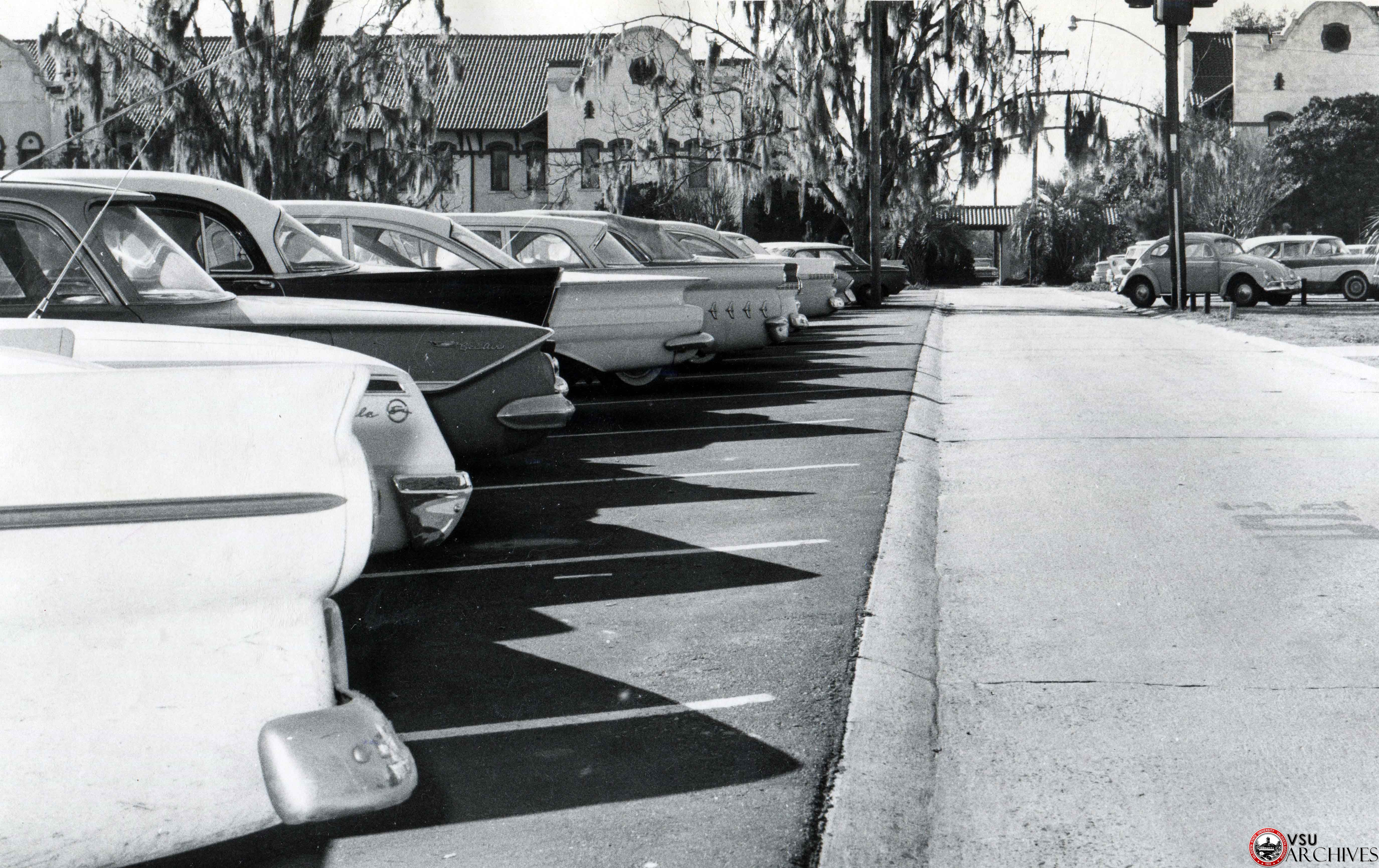 1960s, Cars on Campus
