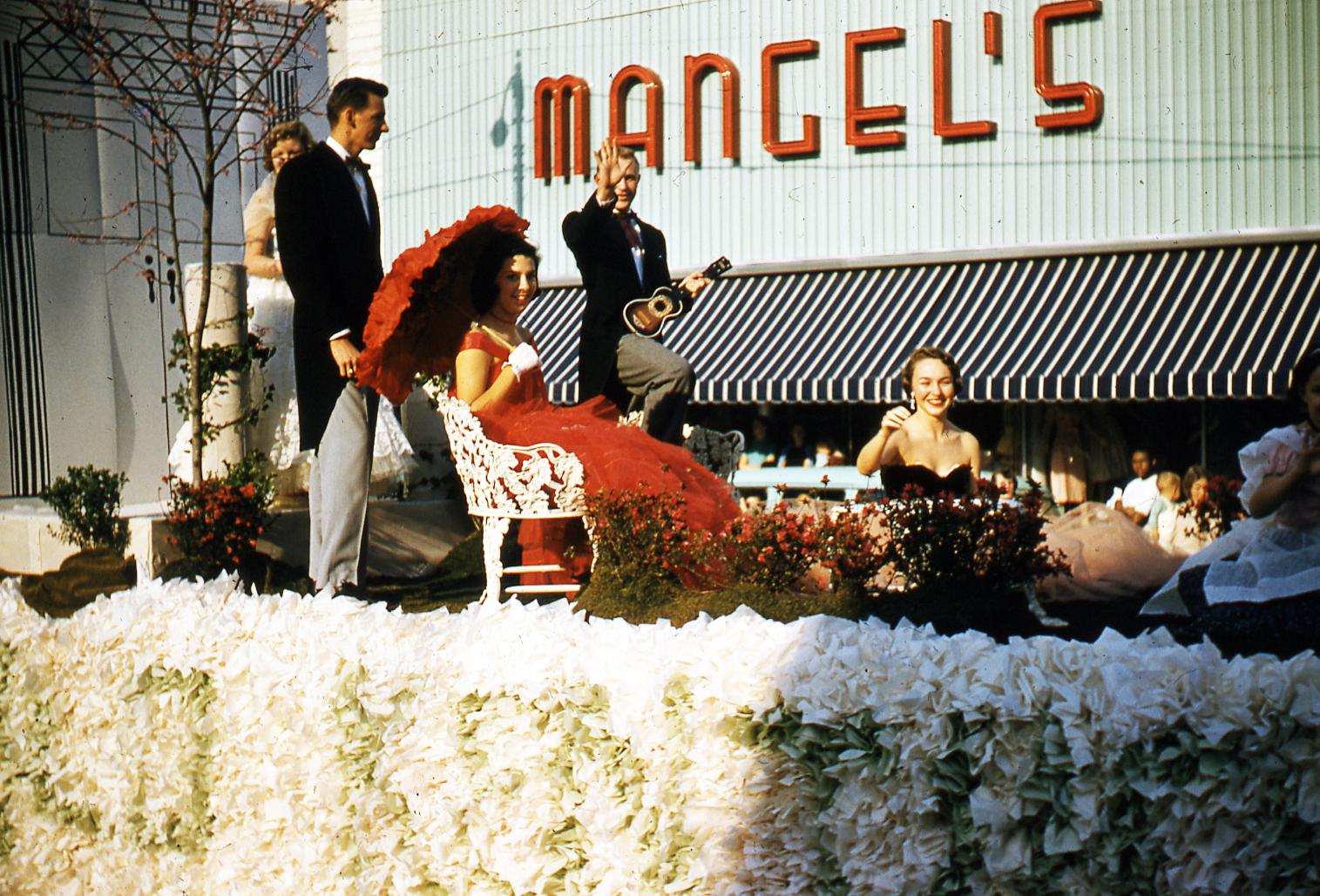 1958, Homecoming Parade