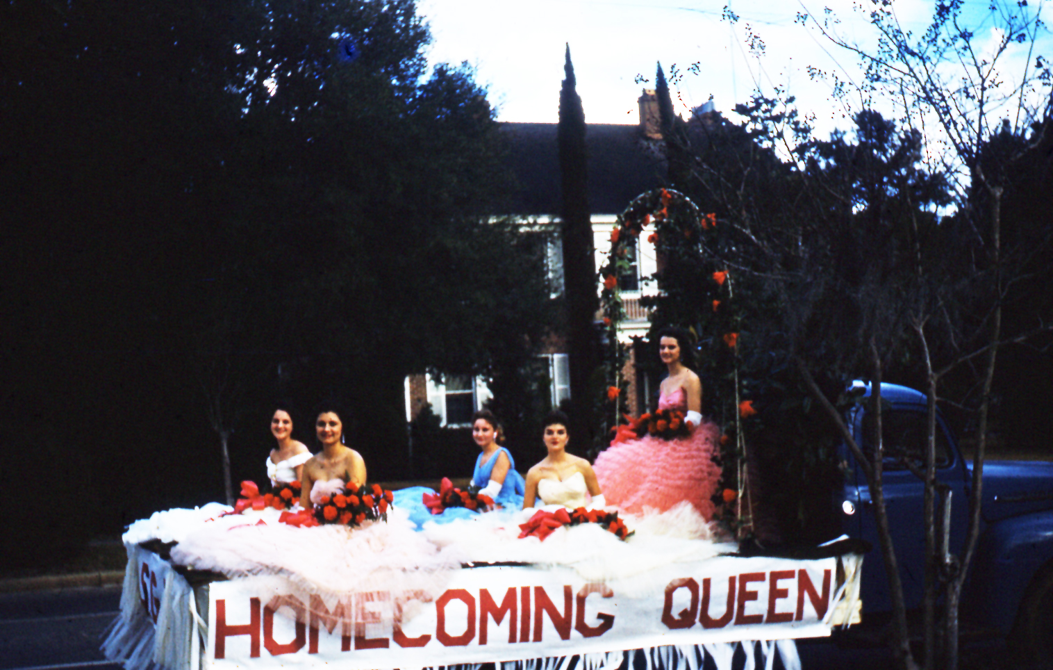 Circa 1957-61, Homecoming Parade