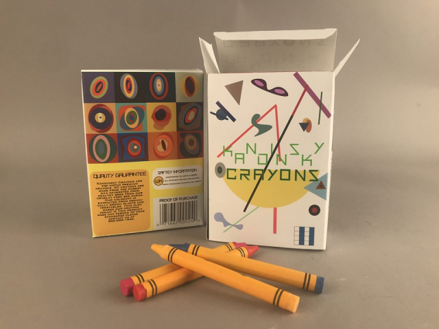 Dhasmine White of Statesboro, Georgia Untitled, Crayons (Package Design)