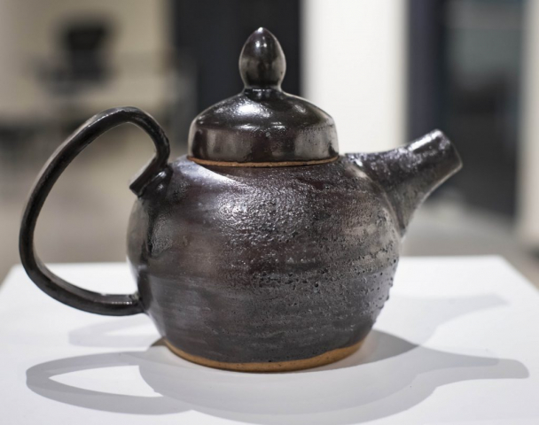 Ramiro Santillan of Valdosta, Georgia Tea Pot (Stoneware)