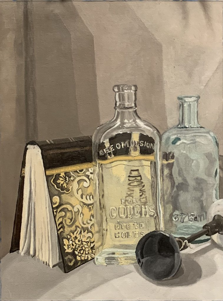 Ali Holcomb of Valdosta, Georgia Still Life (Oil Paint) Honorable Mention